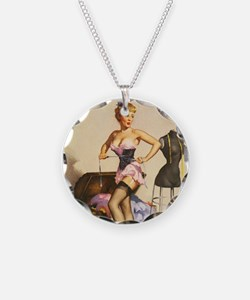 Pinup Seamstress Necklace