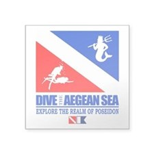 Dive The Aegean Sea Sticker