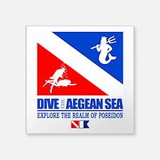 Dive The Aegean Sea Sticker
