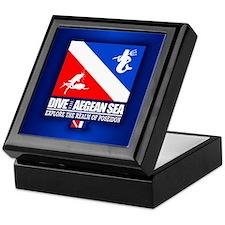 Dive The Aegean Sea Keepsake Box
