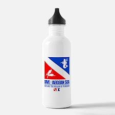 Dive The Aegean Sea Water Bottle