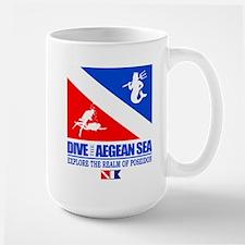 Dive The Aegean Sea Mugs
