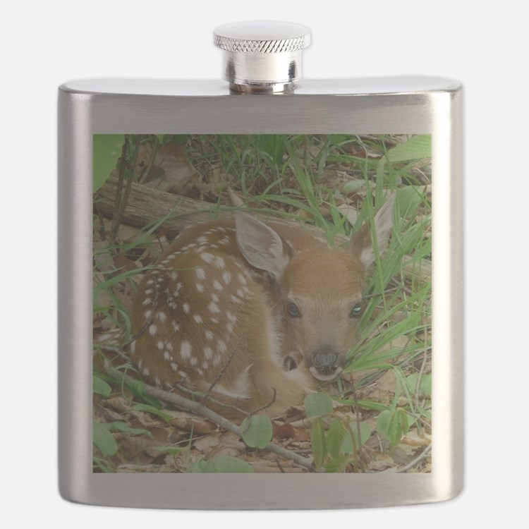 spotted fawn Flask