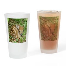 spotted fawn Drinking Glass