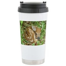 spotted fawn Travel Mug