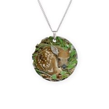 spotted fawn Necklace