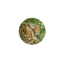 spotted fawn Mini Button