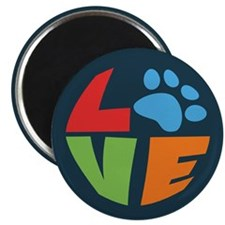 "L(paw)VE 2.25"" Magnet (10 pack)"
