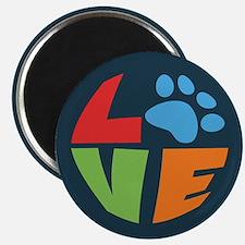 """L(paw)VE 2.25"""" Magnet (10 pack)"""