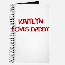 Kaitlyn Loves Daddy Journal