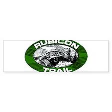 2-rubicon-oval-sticker Bumper Bumper Sticker