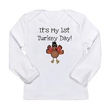 1stturkeydaya Long Sleeve T-Shirt