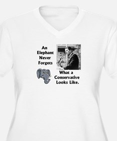Elephant Never Forgets a Conservative T-Shirt
