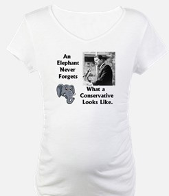 Elephant Never Forgets a Conservative Shirt