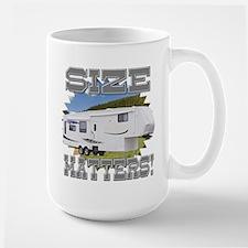 Size Matters Fifth Wheel Large Mug