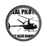 Helicopter Wall Clocks
