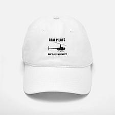 Real Pilots Dont Need Runways Baseball Baseball Baseball Cap