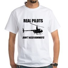 Real Pilots Dont Need Runways T-Shirt