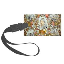 Queen Victoria Jubilee Luggage Tag