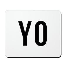 Yo Mousepad