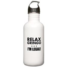 Relax Gringo Im Legal Water Bottle