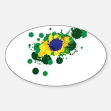 Brazil Flag- Decal