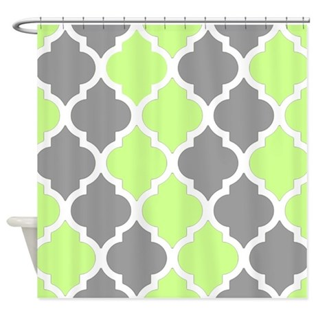lime green and gray shower curtains lime green and gray fabric