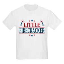 4th of July, Little Firecracker T-Shirt