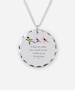 RUNNERS - It does not matter Necklace