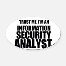 Trust Me, I'm An Information Security Analyst Oval