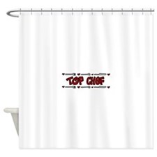 Top Chef Shower Curtain