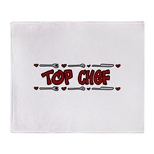 Top Chef Throw Blanket