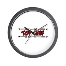 Top Chef Wall Clock