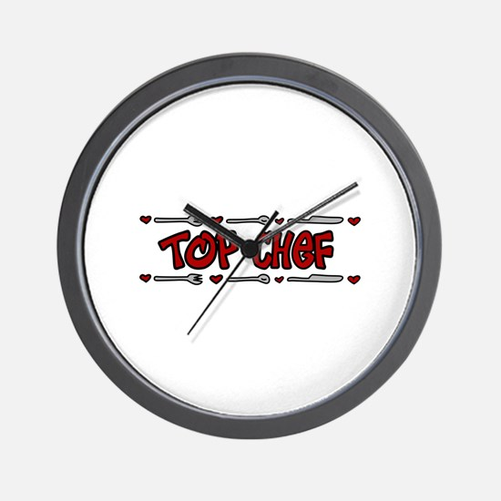 Top Chef Wall Clock
