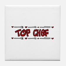 Top Chef Tile Coaster