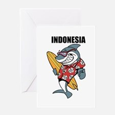 Indonesia Greeting Cards