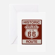 Tulsa Route 66 Greeting Cards