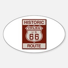 Tulsa Route 66 Decal