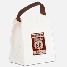 Tulsa Route 66 Canvas Lunch Bag
