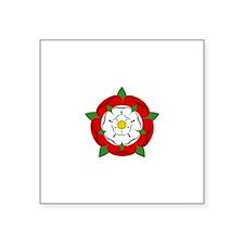 Heraldic Rose Sticker