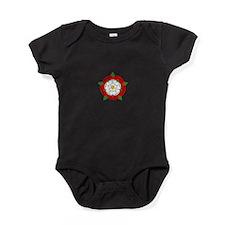 Heraldic Rose Baby Bodysuit