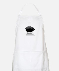 Shiny Black Sheep BBQ Apron