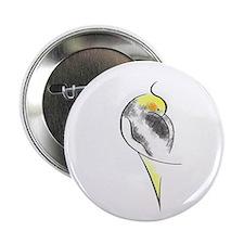 Pied Cockatiel Button