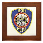 Hoh Tribal Police Framed Tile