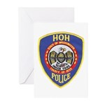 Hoh Tribal Police Greeting Cards (Pk of 10)
