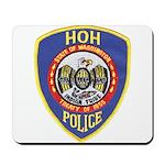 Hoh Tribal Police Mousepad