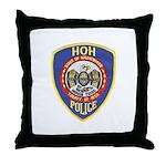 Hoh Tribal Police Throw Pillow
