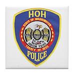 Hoh Tribal Police Tile Coaster