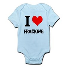 I Love Fracking Body Suit