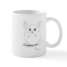 Chinchilla Sketch Mugs